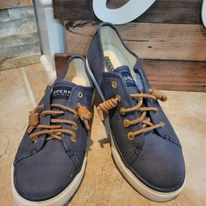 Sperry Womens Seacoast Top Slider Shoe Blue Size 7